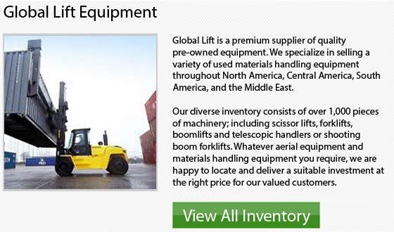 Caterpillar Large Capacity Forklifts